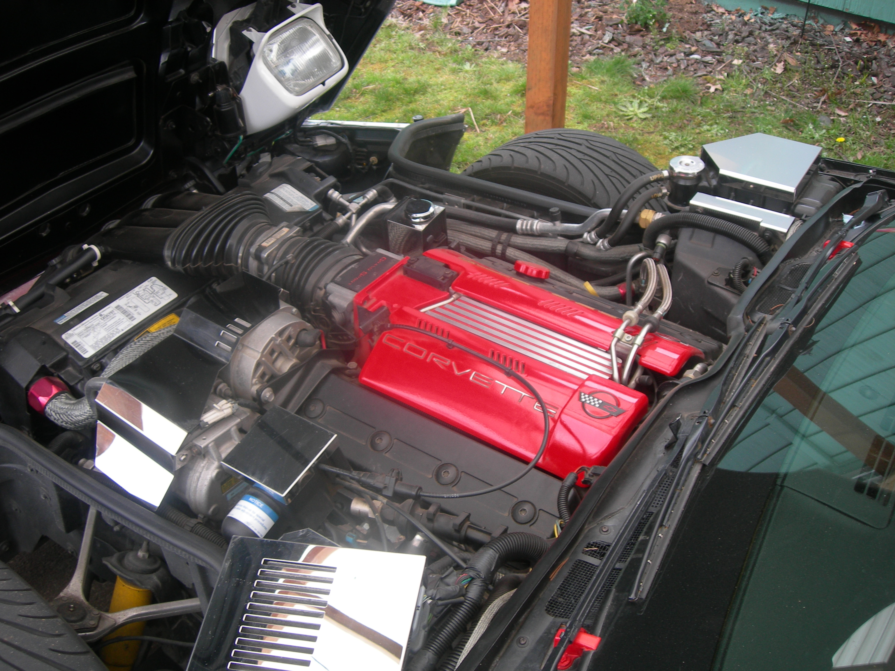 1996 Corvette With Lt4 Engine